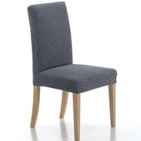 Multielastický potah na židli Sada modrá, 40 - 50 cm, sada 2 ks