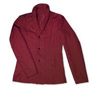 Prošívaný kabátek, vínová,L