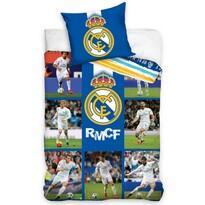 Bavlnené obliečky Real Madrid Mozaika, 140 x 200 cm, 70 x 90 cm
