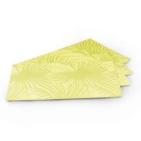 Podkładki na stół Banana zielone, 30 x 45 cm, zestaw 4 szt.