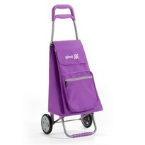 Gimi Argo nákupná taška na kolieskach fialová