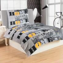 Lenjerie de pat micro-pluş Home City, 140 x 200 cm, 70 x 90 cm