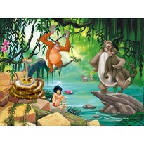 Dětská fototapeta XXL Kniha džunglí 360 x 270 cm, 4 díly