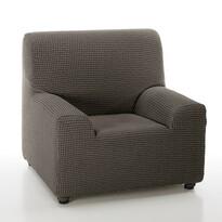 Sada multielasztikus fotelhuzat, barna