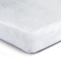 Prostěradlo Mikroplyš bílá, 90 x 200 cm
