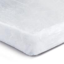Prześcieradło pluszowe biały, 90 x 200 cm