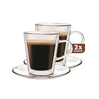 Maxxo Doppio 2-cześciowt zestaw szklanek termicznych, 100 ml