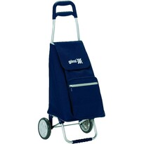 Gimi Argo nákupná taška na kolieskach modrá