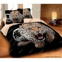 Matějovský bavlněné povlečení Leopard wild, 140 x 200 cm, 70 x 90 cm