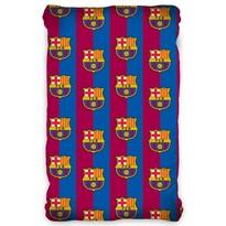 Bavlnené prestieradlo FC Barcelona, 90 x 200 cm