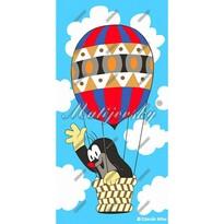 Matějovský osuška Krtko v balóne, 75 x 150 cm