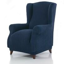 Pokrowiec multielastyczny na fotel Uszak Cagliari  niebieski, 70 - 100 cm