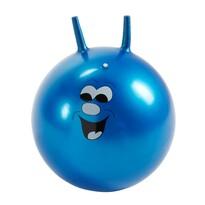 Skákací míč Smajlík modrá, 45 cm