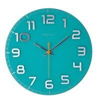 Nextime Classy round  8817tq nástenné hodiny