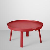 Konferenčný stolík Around veľký, červený