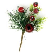Gałązka świąteczna Alicante, 15 cm