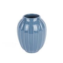 Elegatná váza Lilien modrá, 12 cm