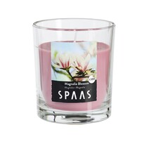 SPAAS Vonná sviečka v skle Magnolia Blossom, 7 cm