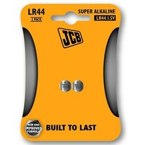 JCB alkalická baterie LR44 blistr 2 ks
