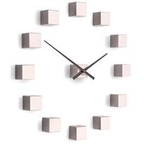 Ceas de design Future Time FT3000PI Cubic pink, autoadeziv, diam. 50 cm