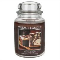 Village Candle Świeczka zapachowa Czekoladowe Brownie – Brownie Delight, 645 g