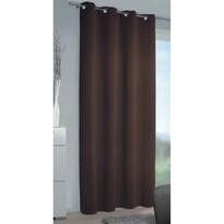 Mia sötétítőfüggöny csokoládébarna, 140 x 245 cm