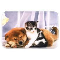 Predložka Pes a mačka, 40 x 60 cm