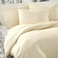 Lenjerie de pat din satin Luxury Collection, crem, 200 x 200 cm, 2ks 70 x 90 cm