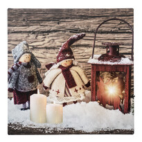 LED Obraz na plátne Poupée et poupée, 30 x 30 cm