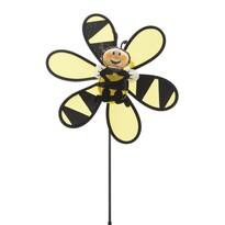 Záhradný veterník Včielka žltá, 45 cm