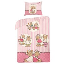 Detské bavlnené obliečky ovečka Nici, 140 x 200 cm, 70 x 80 cm