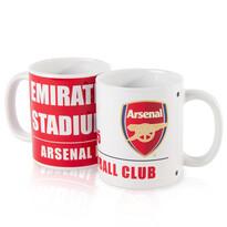 FC Arsenal Kubki ceramiczne 350 ml, 2 szt.