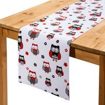 Běhoun na stůl Sovy, 33 x 130 cm