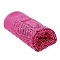Chladicí ručník růžová, 90 x 32 cm