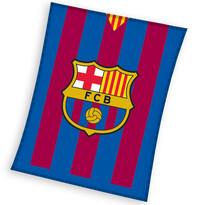 Fleecová deka FC Barcelona, 110 x 140 cm