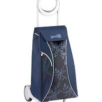 Gimi Market Queen nákupní taška na kolečkách modrá