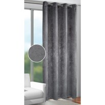 Joe sötétítő függöny karikákkal antracit, 135 x 245 cm