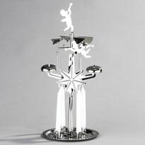 Andělské zvonění DE Luxe stříbrná