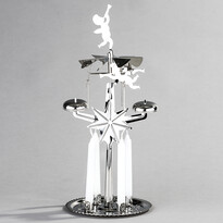 Anjelské zvonenie DE Luxe strieborná
