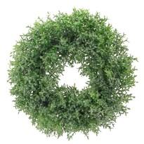 Umělý věnec Tymián zelená, pr. 28 cm