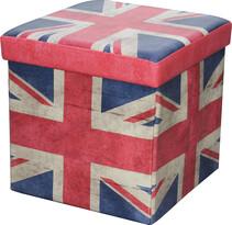 Skladací sedací box s potlačou Veľká Británia