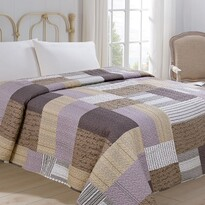 Narzuta na łóżko Patchwork, 220 x 240 cm