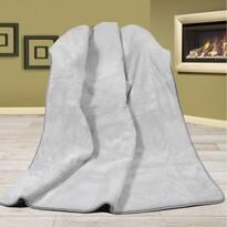Vlnená deka Alpaka DUO UNI šedá, 155 x 200 cm
