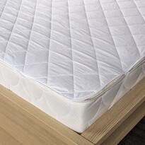 Chránič matraca prešitý z dutého vlákna biela