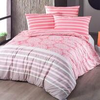Morbido pamut ágyneműhuzat lazac színű
