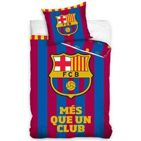 FC Barcelona Több mint egy klub pamut ágynemű, 140 x 200 cm, 70 x 80 cm