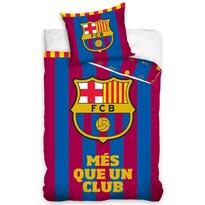 Lenjerie de pat FC Barcelona Mai mult decât un, 140 x 200 cm, 70 x 80 cm