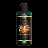 Topvet Koupelový a tělový olej skořice a hřebíček v mandlovém oleji