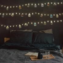 DecoKing Lampki na zdjęcia ciepła biała, 20 LED