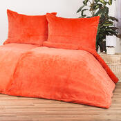 4Home povlečení mikroflanel oranžová, 140 x 200 cm, 70 x 90 cm